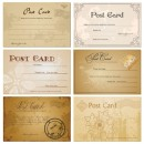 - Blanko postkarten ...