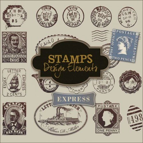 New Freebies Stamps Kit - Scrap Mania Free