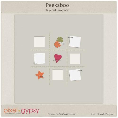 PixelGypsyPeekabooTemplate