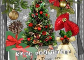 .Christmas Elements_Preview_Scrap and Tubes