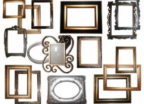 Freebies - 16 High-Res Decorative Frame Pictures
