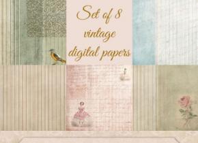 CoffeeShop Vintage Papers 7 ad