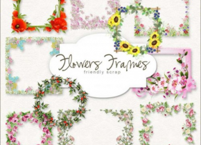 New Freebies Frames Kit - Scrap Mania Free